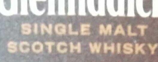 Glenfiddich Single Malt Scotch Whisky - Ingrediënten