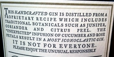 Hendrick's Gin - Ingredients - en