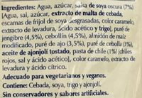 CHOW MEIN - Ingredients