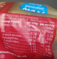 Tojásos tészta, 6 fészek - Informations nutritionnelles - fr