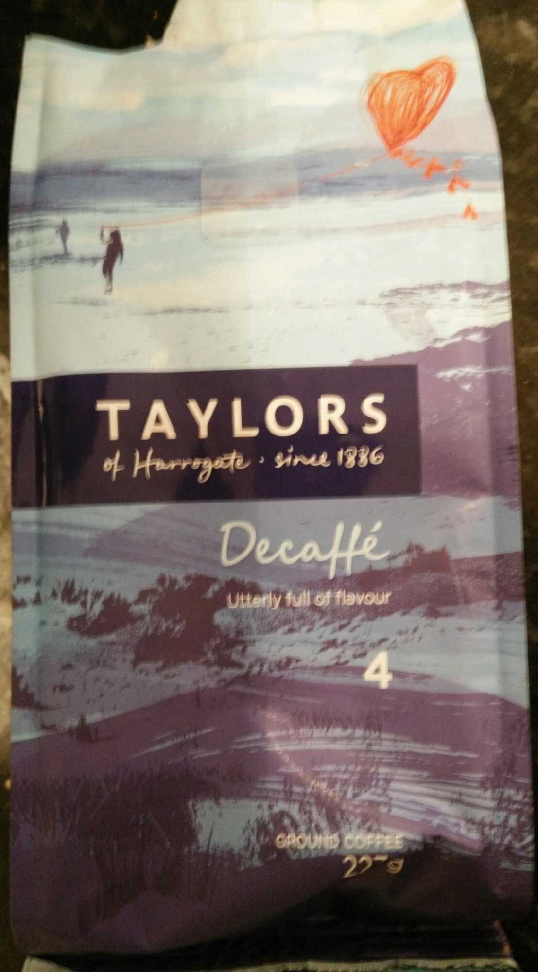 Taylors of Harrogate Decaffe Ground coffee - Product