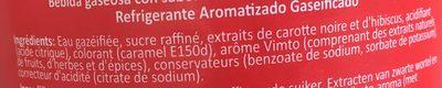 Vimto - Ingredienti - fr