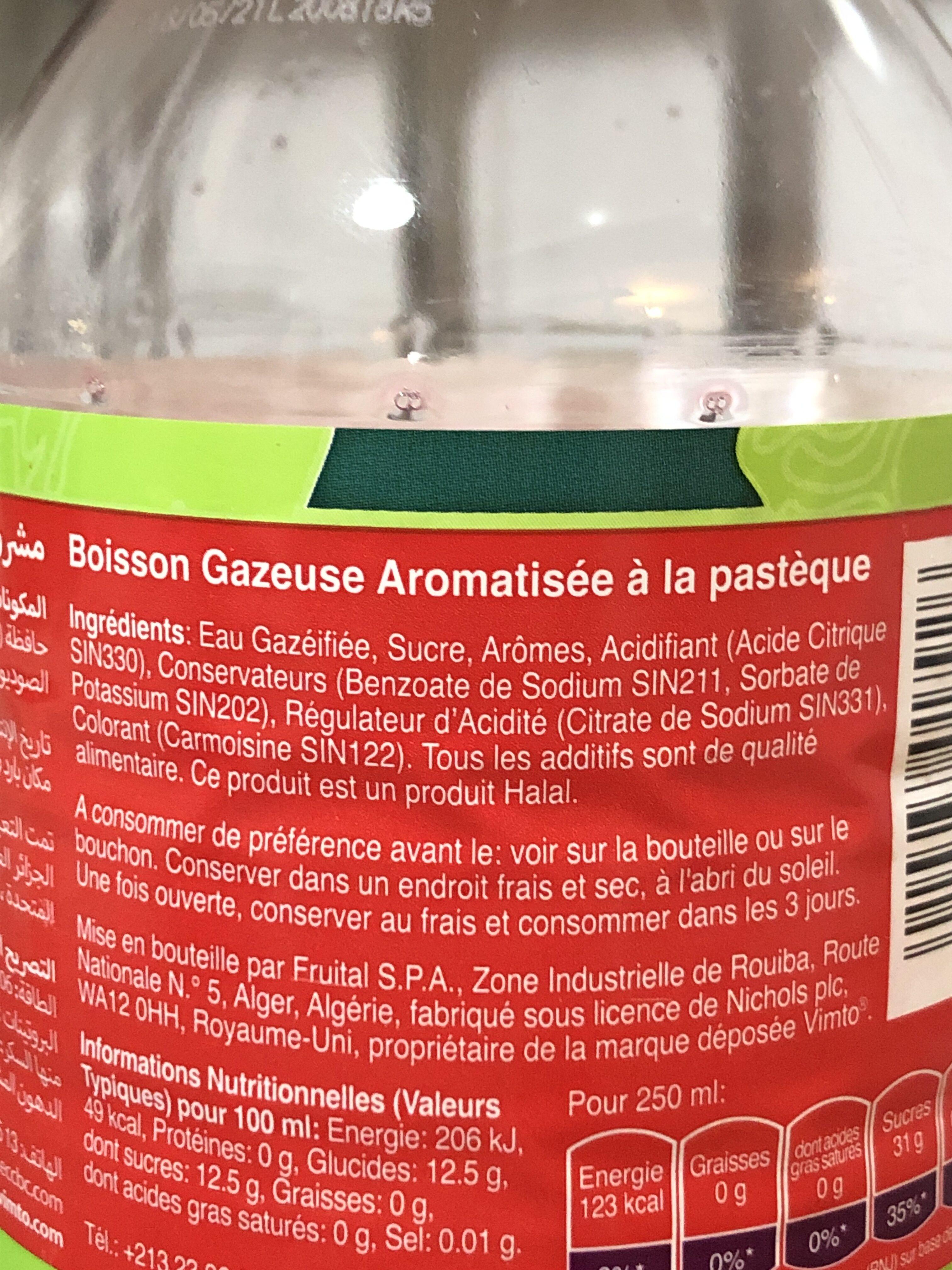 Pastèque - Ingredienti - en