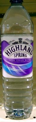 Still spring water - Produit