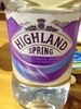 Still spring water drawn from organic land - Product