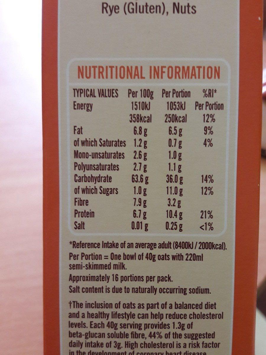 Essential Waitrose Orange Juice Smooth - Ingrédients - fr