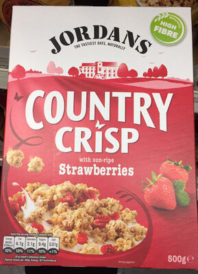 Country Crisp Real Strawberry - Product
