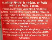 Muesli de luxe - Ingrédients - fr