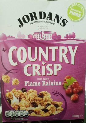 Jordans Country Crisp Flame Raisin - Product