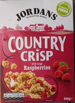 Country crisp raspberries - Producto - en