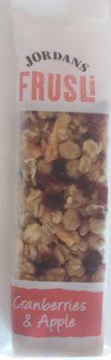 Frusli Cereal Bars - Produit - fr