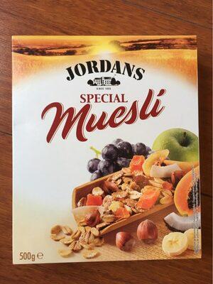 Muesli special cereales de desayuno con de frutas - Producto - es
