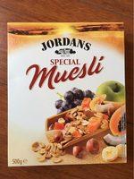 Special Muesli - Producte