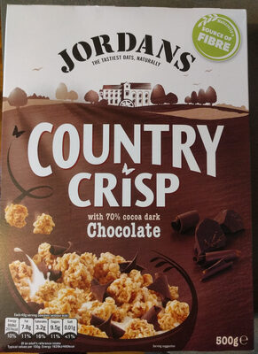 Country crisp with 70% Chocolate - Product