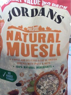 Jordans Natural Muesli - Produit - fr