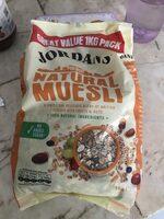 Jordans Natural Muesli - Ingrédients - fr