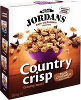 Country crisp Crunchy muesli Dark chocolate - Produit - en