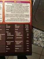 Crunchy muesli Dark Chocolate - Informations nutritionnelles