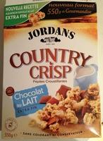 Country Crisp - Chocolat au lait extra fin - Produit - fr
