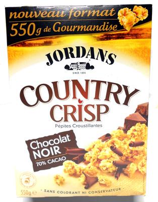 Country Crisp - Chocolat noir - Produit - fr