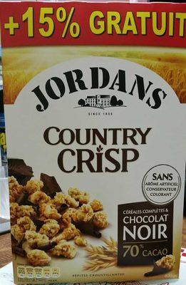 Céréales Country Crisp Chocolat Noir - Product - fr