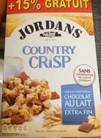 Country Crisp - Céréales complètes & chocolat au lait extra fin - Produit - fr