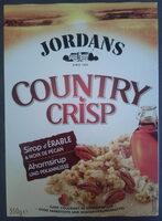 Country Crisp Sirop d'Erable & Noix de Pécan - Produit - fr