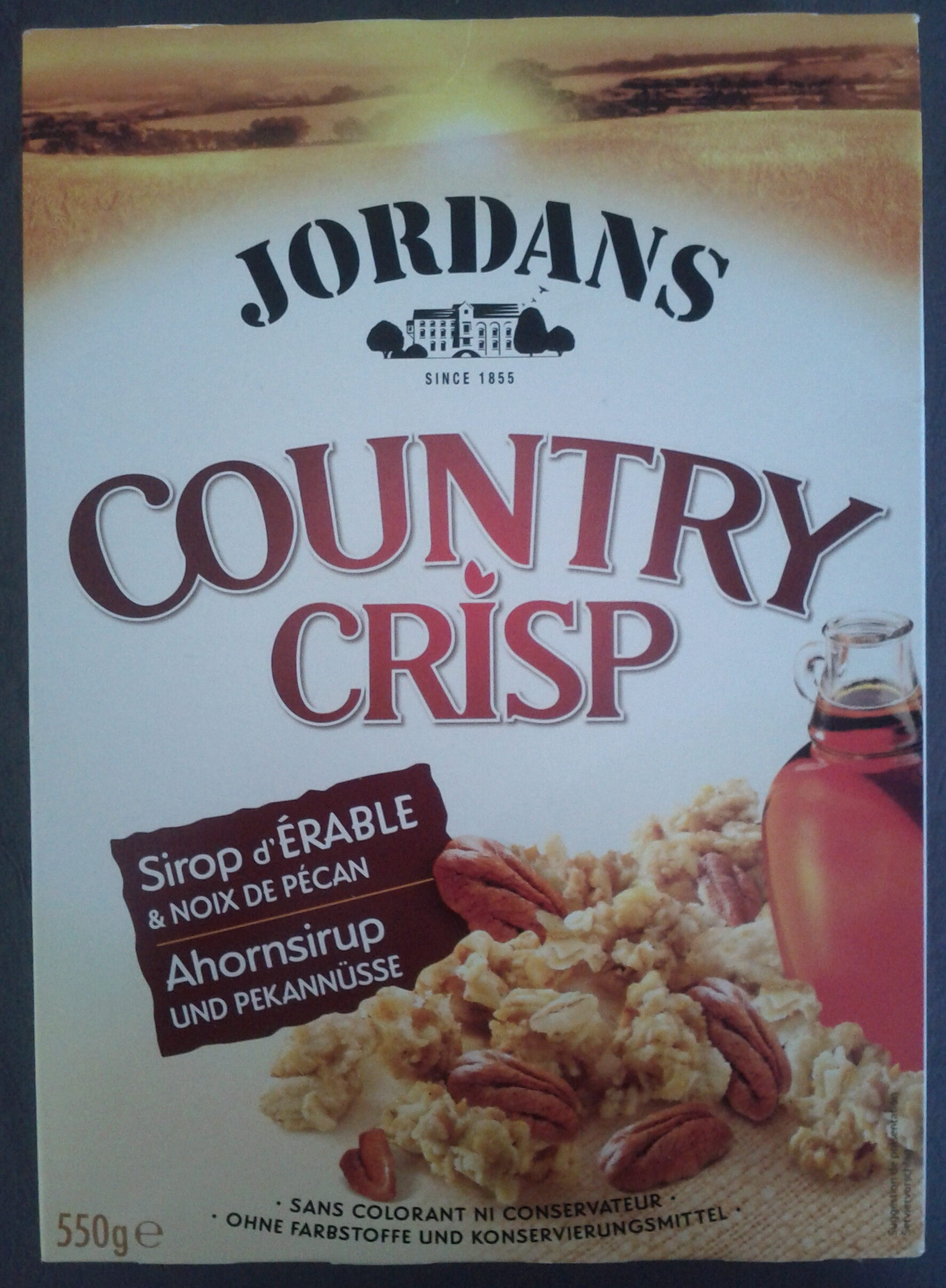 Country Crisp Sirop d'Erable & Noix de Pécan - Product - fr