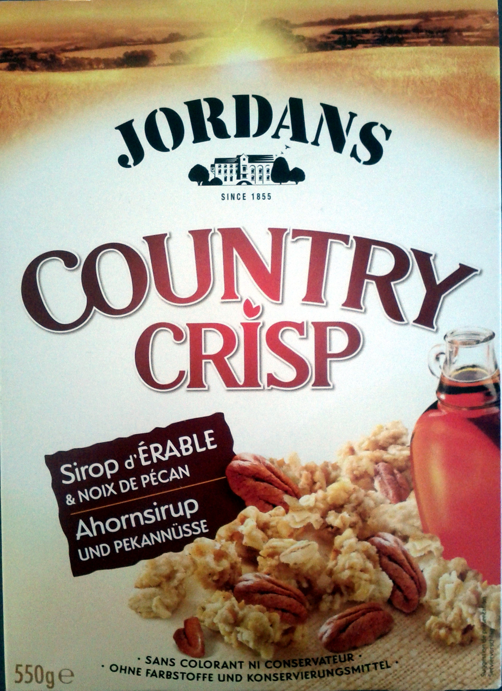 Country Crisp Sirop d'Erable & Noix de Pécan - Product