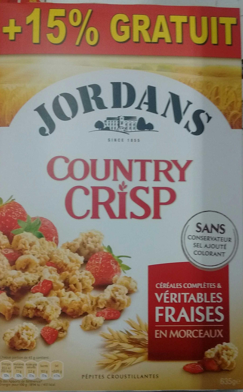 Country Crisp - Fraises (+15% gratuit) - Produit - fr