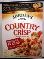 Country Crisp Véritables Fraises en Morceaux - Produit - fr
