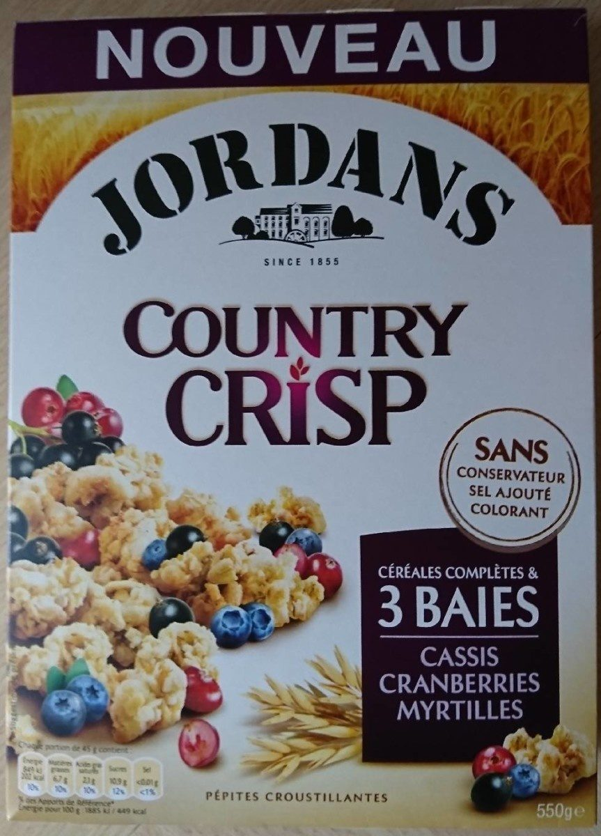 Country Crisp 3 Baies - Product