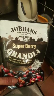 Super berry granola - Produit - fr