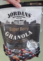 Super berry granola - Voedingswaarden - nl