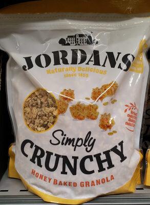 Simple Crunchy honey baked granola - Product - fr