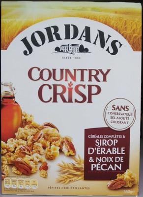 Country Crisp sirop d'érable et noix de pécan - Produit - fr