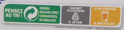 Country Crisp 4 Noix - Recycling instructions and/or packaging information - fr