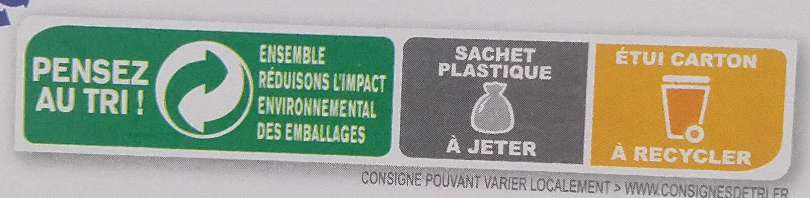 Country Crisp 4 Noix - Instrucciones de reciclaje y/o información de embalaje - fr