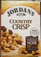 Country Crisp chocolat noir 70% - Product - fr