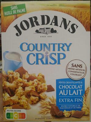 Country Crisp chocolat au lait - Prodotto - fr