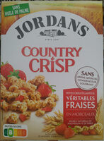 Country Crisp Fraises - Produit - fr