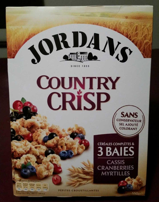 Country Crisp 3 Baies - Produit - fr