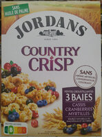 Country Crisp 3 Baies - Prodotto - fr