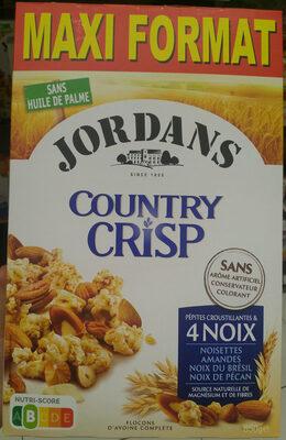 Country Crisp 4 Noix - Produit