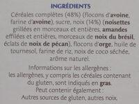Country Crisp 4 Noix - Ingrédients - fr