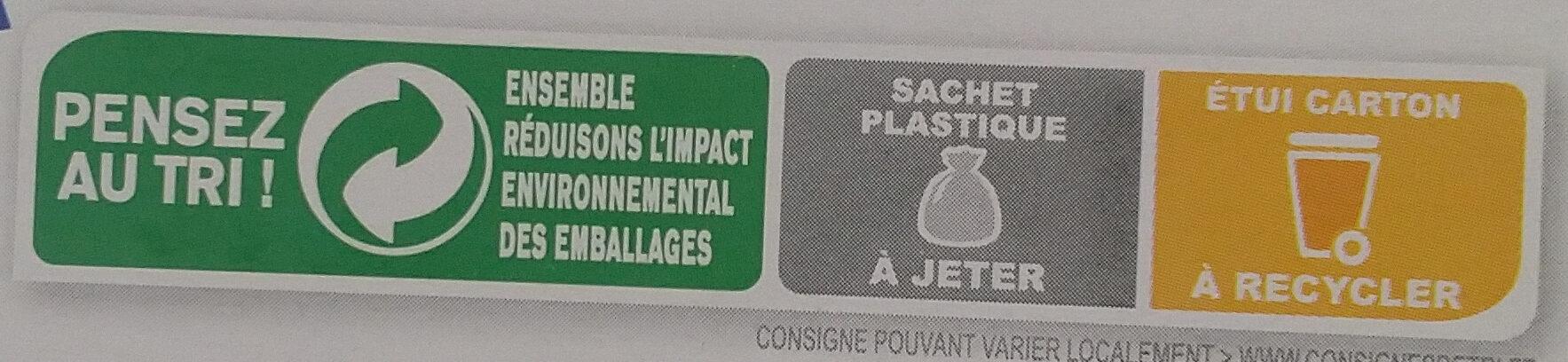 Country Crisp 4 Noix - Instruction de recyclage et/ou informations d'emballage - fr