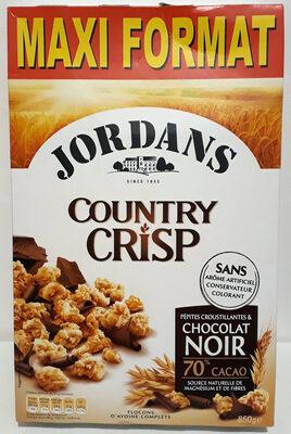Country Crisp pépites croustillantes & chocolat Noir - Produit - fr