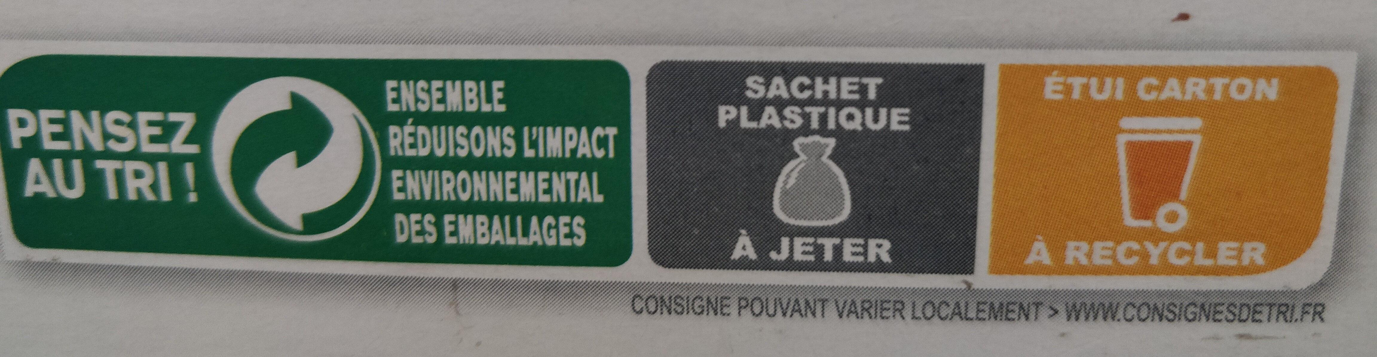 Country Crisp pépites croustillantes & chocolat Noir - Instruction de recyclage et/ou information d'emballage - fr