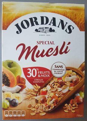 Muesli 30% fruits & noix céréales complètes - Product