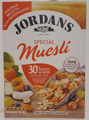 Special Muesli 30% fruits & noix - Product - fr